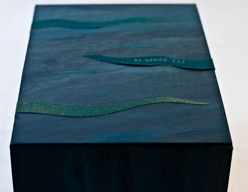To Wave Artist's Book in Boxes