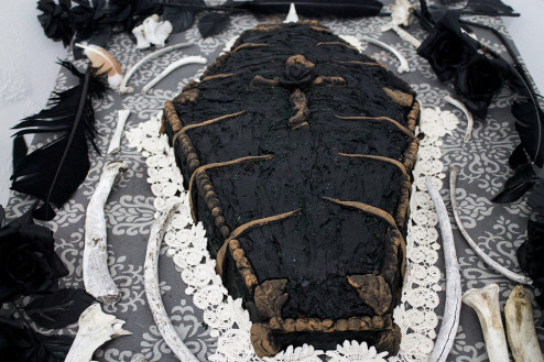 Cake or Death: Coffin Cake