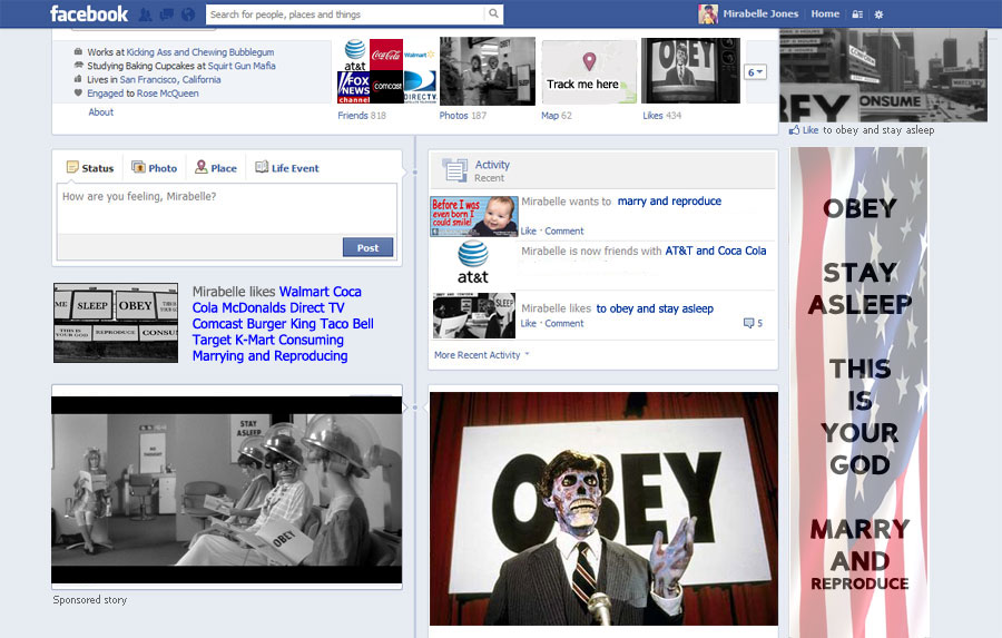 Hacker Anarchist Transmission: Obey and Stay Asleep