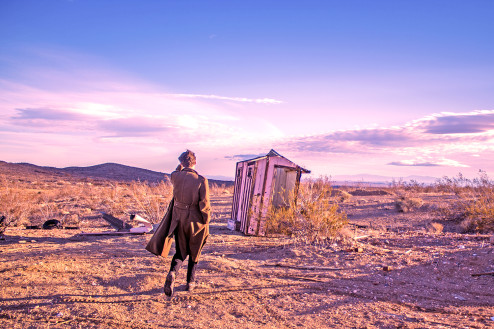 Joe Walking in the Desert p.1