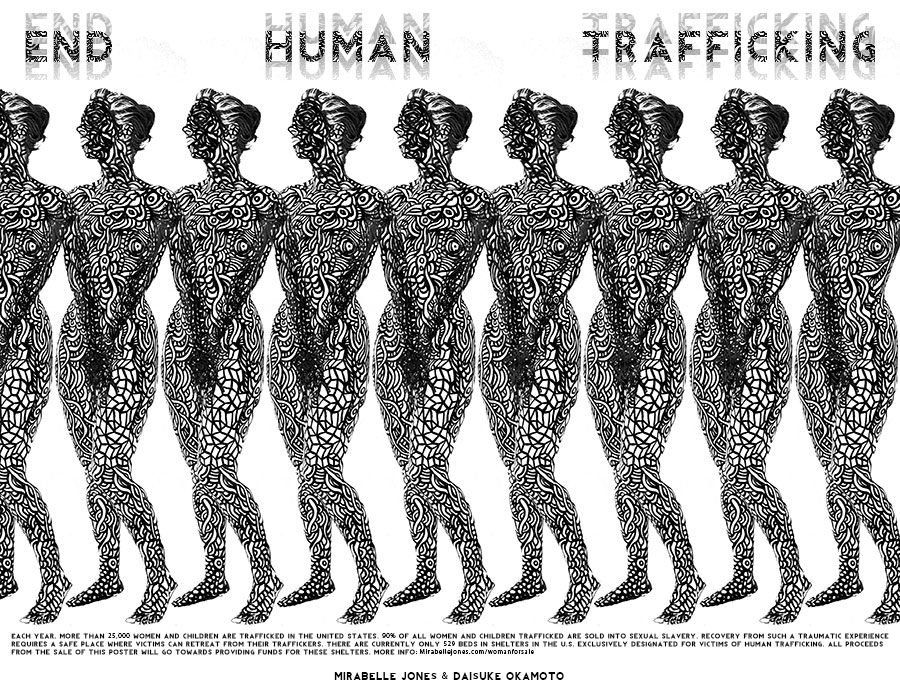 End Sex Trafficking Poster